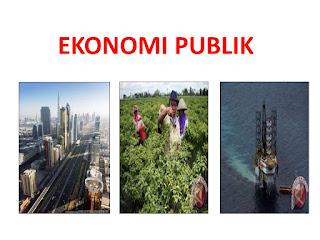 Pengertian, Konsep Dasar dan Ruang Lingkup Ekonomi Publik