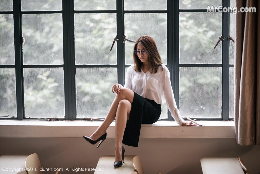 Image XIUREN-No.1267-Sabrina-Xu-Nuo-MrCong.com-009 in post XIUREN No.1267: Người mẫu Sabrina (许诺) (45 ảnh)