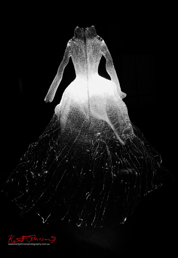 The Dresses' by Tae Gon Kim, Vivid Sydney in black and white photography