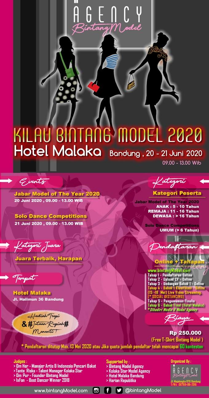 KILAU BINTANG MODEL 2020 (TELAH DITUTUP)