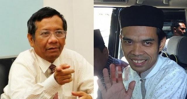 Mahfud MD ke UAS: Preman Melanggar Hukum Kita Tangkap!