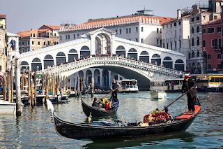 Paseo en gondola en venecia