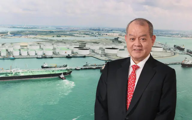 The empire collapsed, the Singapore oil tycoon could only spend a maximum of 7,500 USD/week
