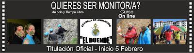 Curso de Monitores/as Online