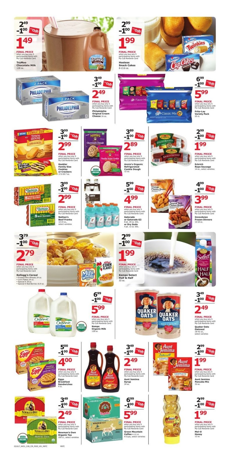 Grocery coupons cub foods