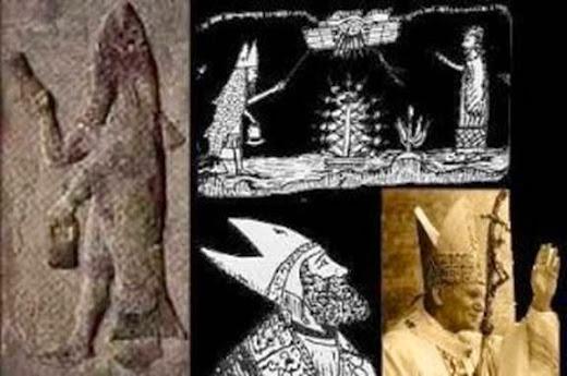 Resultado de imagen de Existe una RELIGIÓN OCULTA en el Vaticano que viene DE BABILONIA?