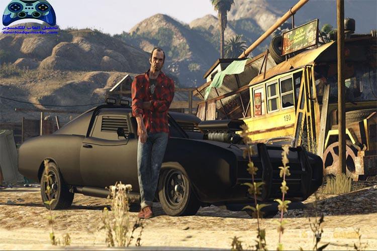 تحميل لعبة جاتا 5 GTA للكمبيوتر من ميديا فاير