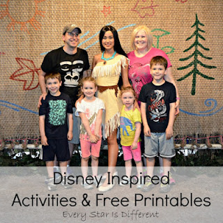 Disney-Inspired Activities and Free Printables