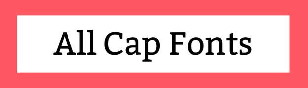 All Cap Fonts Download