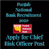 Punjab National Bank Recruitment (PNB) 2020, Apply for Chief Risk Officer Post