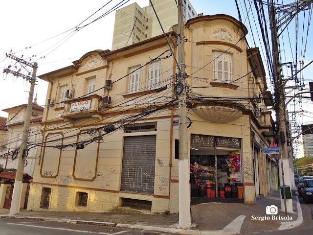Vista de um Casarão Tombado na Rua Domingos de Morais 1412 - Vila Mariana - São Paulo