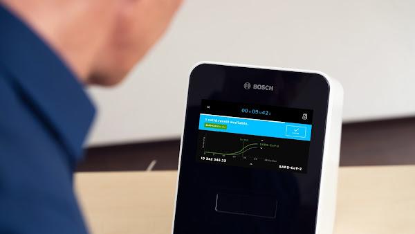 Testes rápidos PCR da Bosch à COVID-19 disponibilizam resultados positivos em menos de 30 minutos