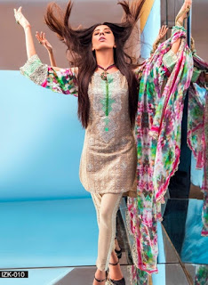 Iznik Luxury Lawn Eid Collection 2016-2017 with Prices