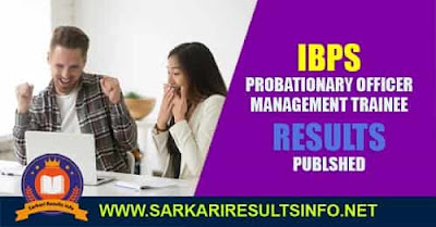 IBPS: Institute Of Banking Personnel Selection has recently published Mains Exam, Interview Result for the Post of Probationary Officer PO and Management Trainee.