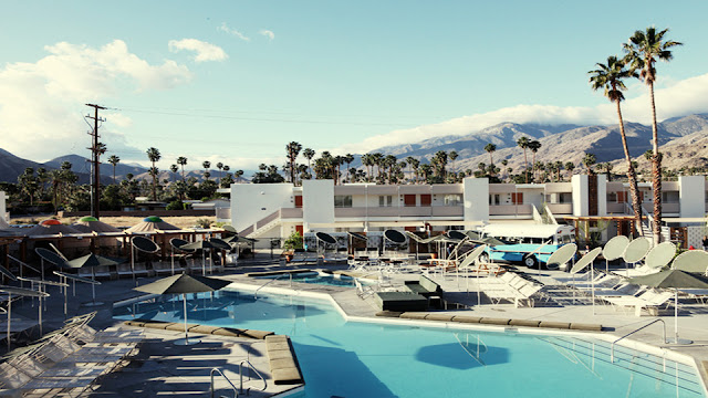 Just minutes from downtown Palm Springs, Ace Hotel and Swim Club is both an escape and a good launching point for Palm Springs' growing downtown area.
