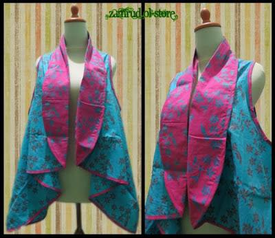 20+ Model Baju Batik Kombinasi Bolero Modern Terbaru 2018, Limited Edition