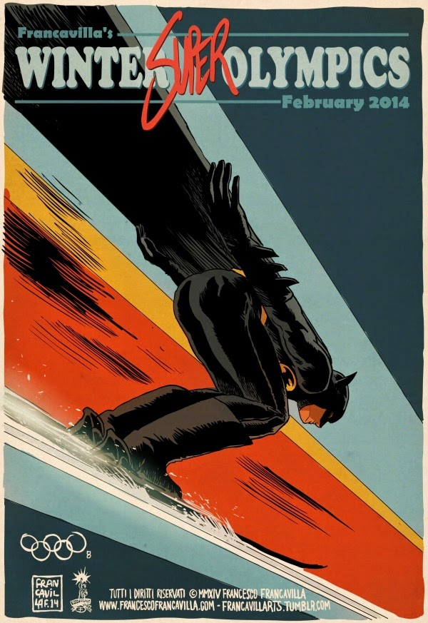 01-Batman-Ski-Jumping-Francesco-Francavilla-Winter-Superhero-Olympics-www-designstack-co