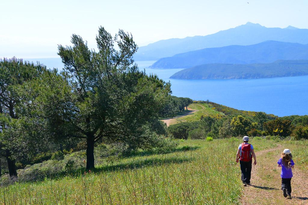 Trekking sull'isola d'Elba d'Autunno - Itinerari e percorsi