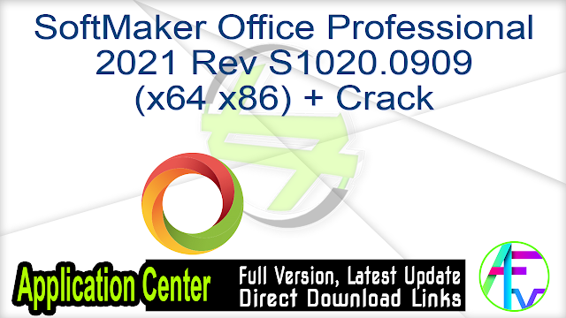 SoftMaker Office Professional 2021 Rev S1020.0909 (x64 x86) + Crack