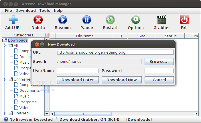 Xtreme Download Manager 3 03 Build 27 released, install on