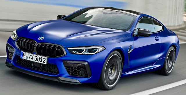 BMW M8クーペ、M8 Competition 日本発売。