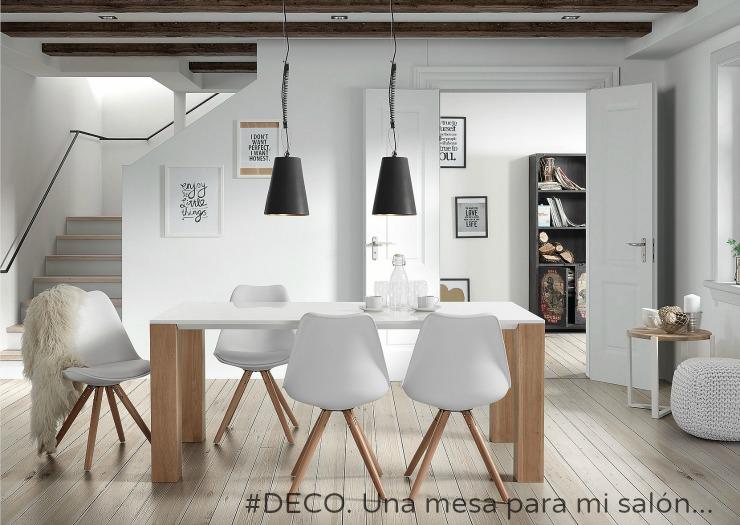 02.02.2017 #DECO. Una mesa para mi salón
