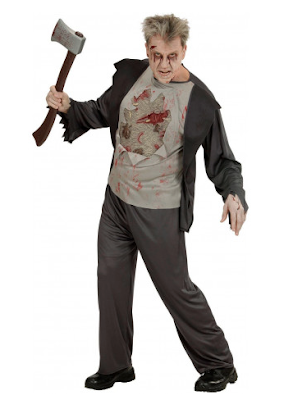 halloween heren kostuum zombie