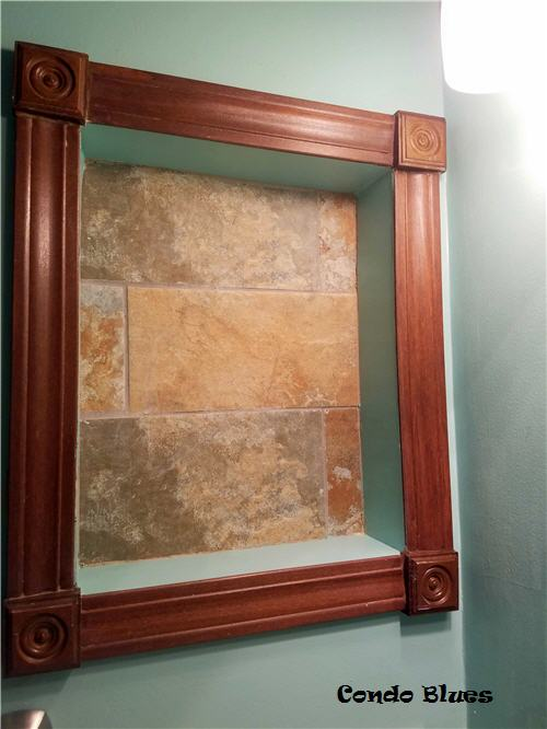 how to make a recessed wall niche