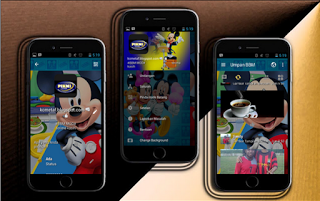 DOWNLOAD BBM MOD MICKEY MOUSE FREE STICKER APK V3.1.0.13 NEW