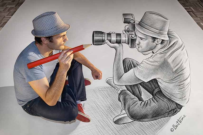 If youre trying to look for best drawings you have actually stay on the ideal lading page http www boredpanda com 3d pencil drawings