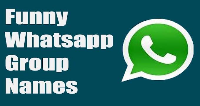 100 + Funny whatsapp group names - Naughty group names