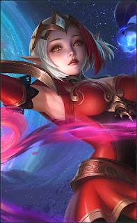 Lunox Bloody Mary Heroes Mage of Skins V1