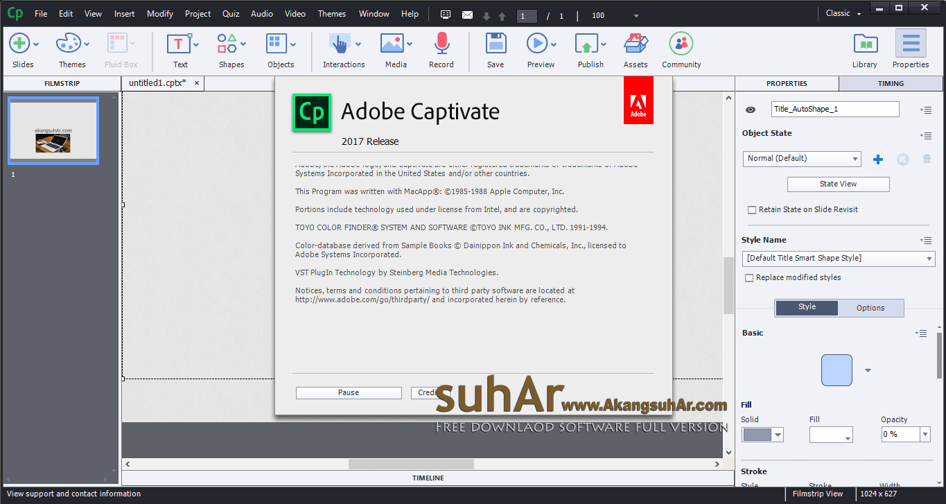 Free Download Adobe Captivate 2017 Full Serial Number, Adobe Captivate 2017 Full Activation Patch