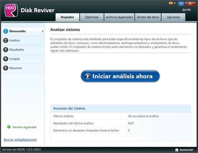 ReviverSoft Disk Reviver Serial