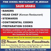 Fine Dining Restaurants Jobs in Jeddah