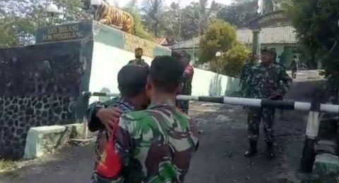 Preman serang markas TNI