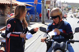 Prefeitura de Picuí realizou pit stop do maio amarelo