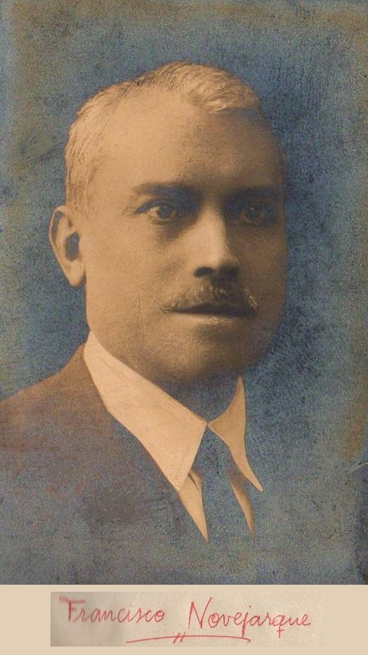 El ajedecista Francisco Novejarque Iranzo
