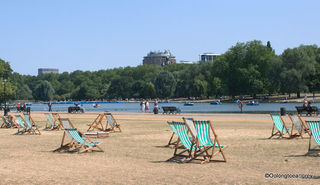 Deck Chairs, Hyde Park, London, England