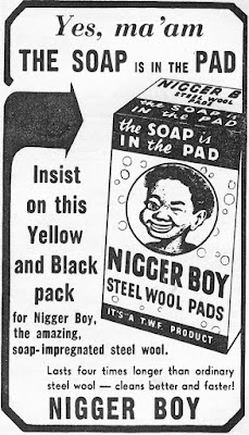 Nigger Boy Steel Wool Pads