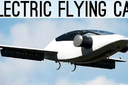 World's First Flying Cars With All-Electric VTOL Jet
