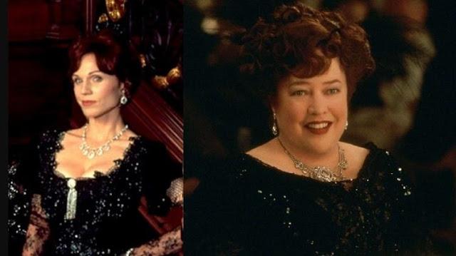 Molly Brown em Titanic filmes diferentes