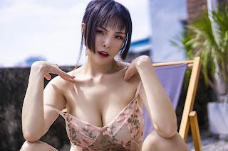 Cosplay 秋和柯基 NO.011 天台