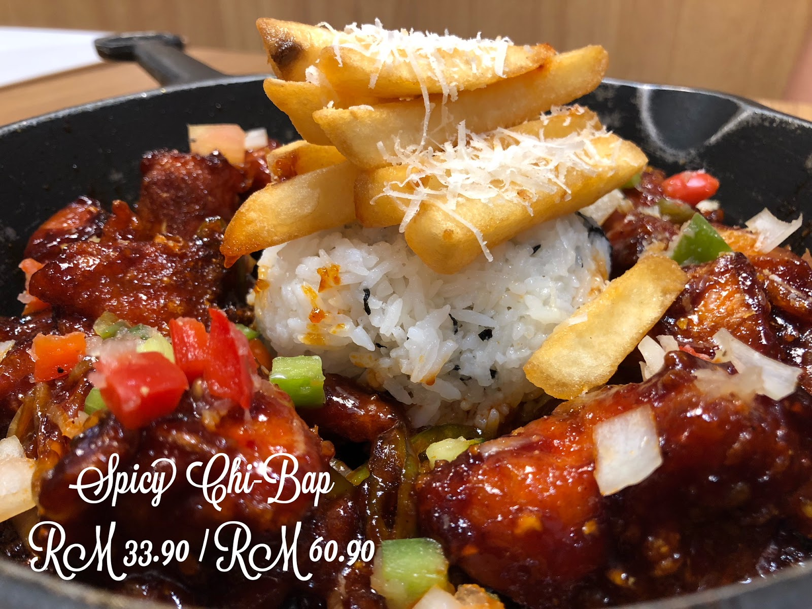Chir Chir Fusion Chicken Factory Malaysia launched new dishes