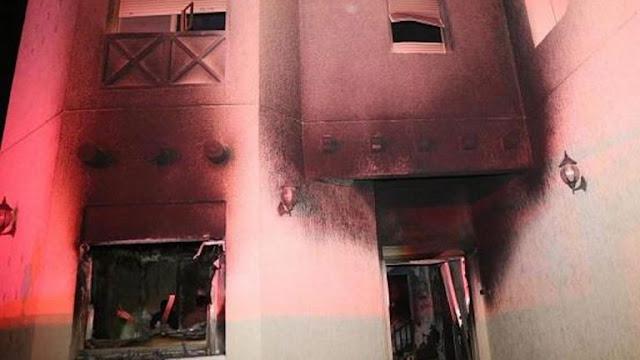 حريق صباح الأحمد وفاة 8 أطفال ونجاة 5