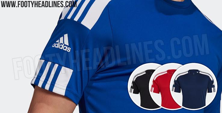 No Logo on Front: Adidas Squadra 21 Teamwear Kit Leaked - 21-22 ...
