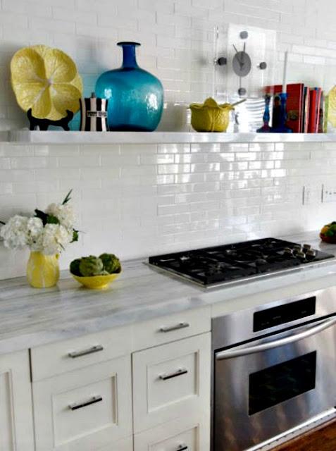 3 Ideias para a decoração da parede na cozinha