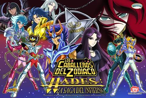 Los Caballeros del Zodiaco Saga de Hades: Infierno (12/12) (80MB) (HDL) (Latino) (Mega)