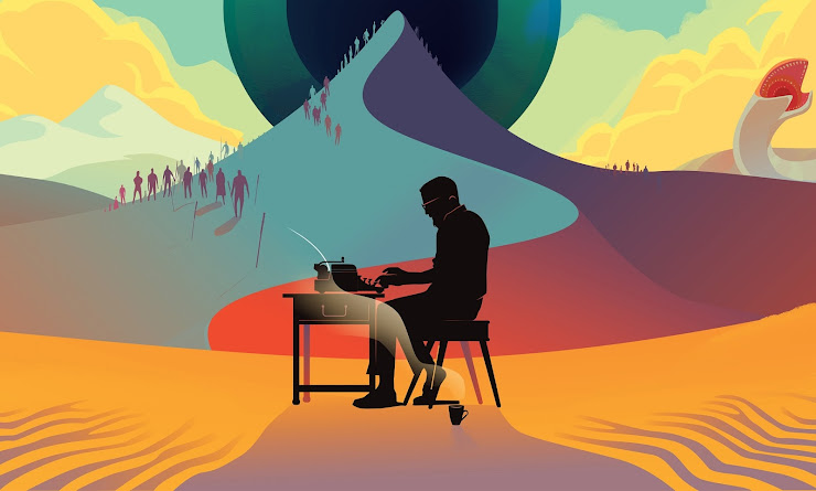 On the desert planet Illustration: Robert Ball/Review