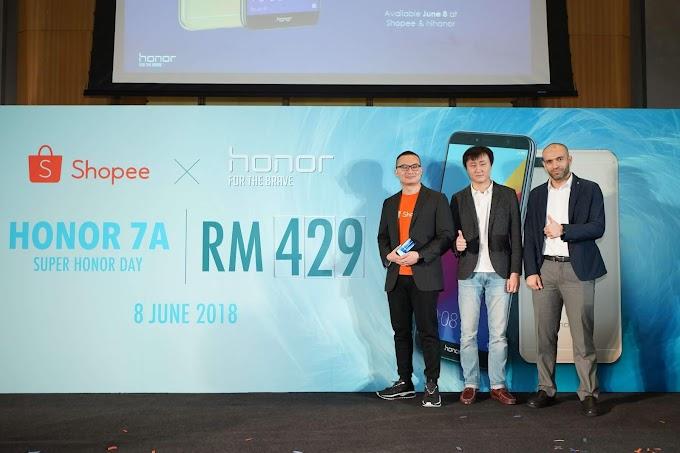 Super Honor Day Dilancarkan Secara Eksklusif di Shopee Malaysia